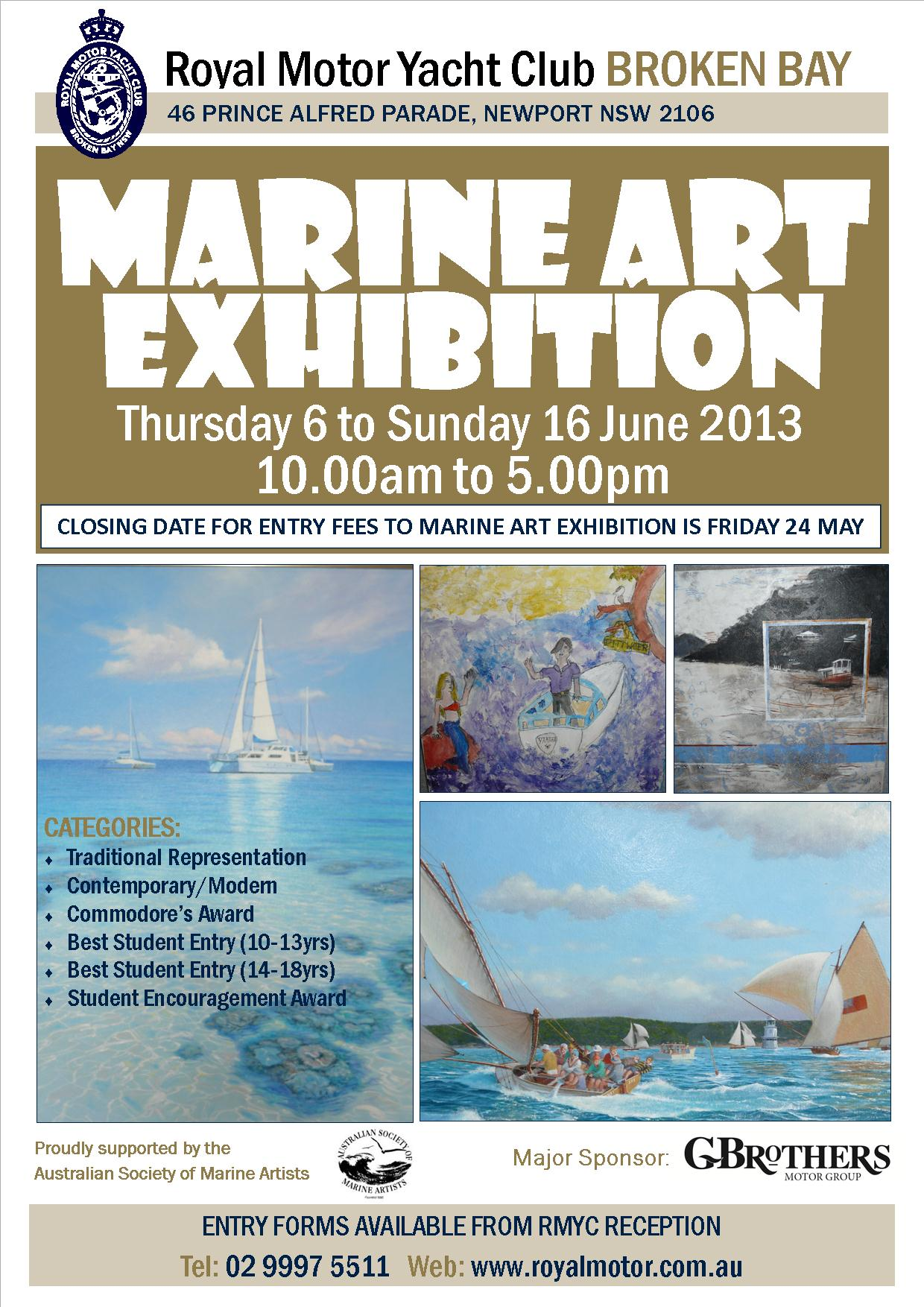 Marine Art_Exhibition_-_A4_Promotional_Flyer_2013_with_address
