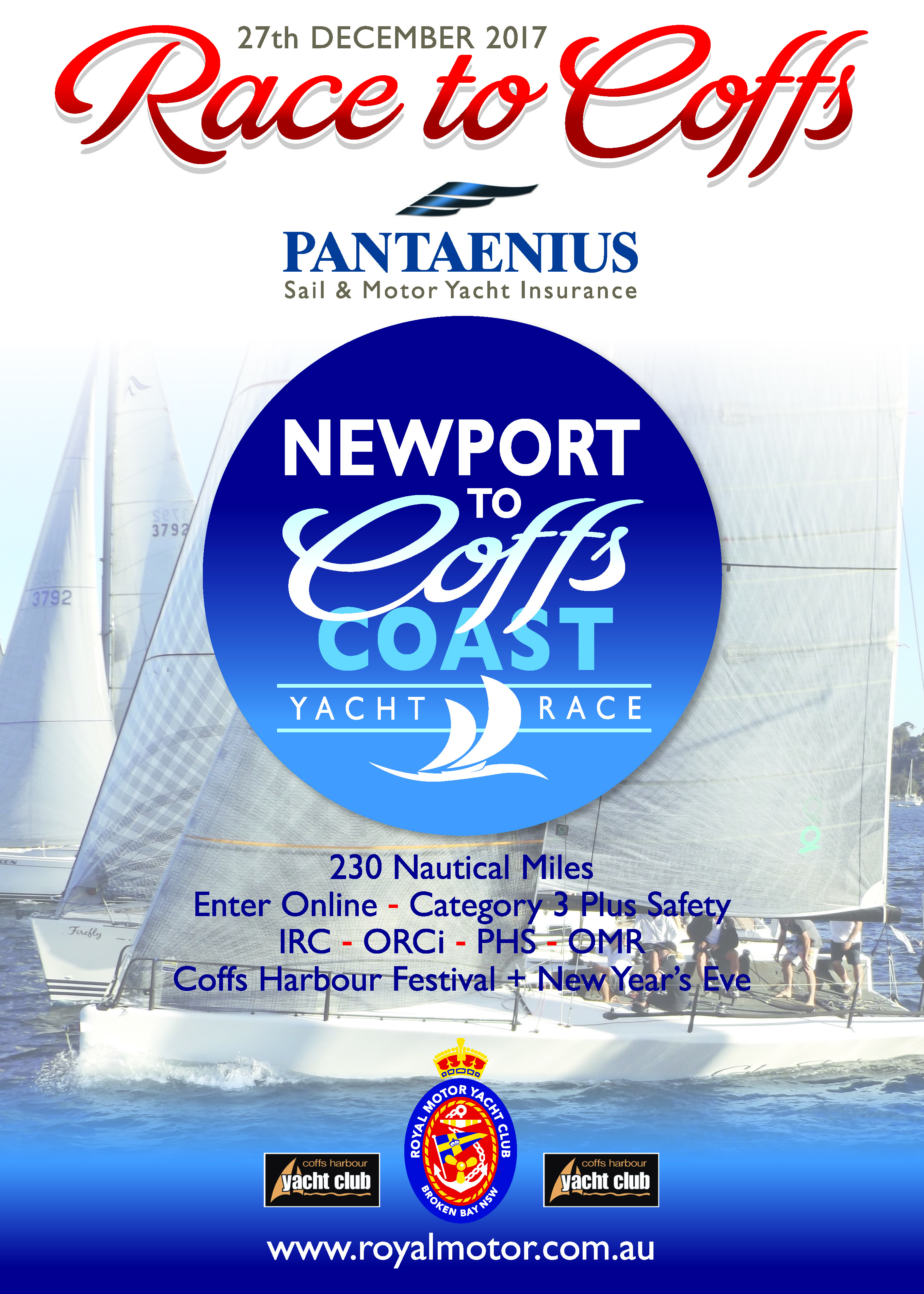 NEWPORT TO COFFS AFLOAT full pager