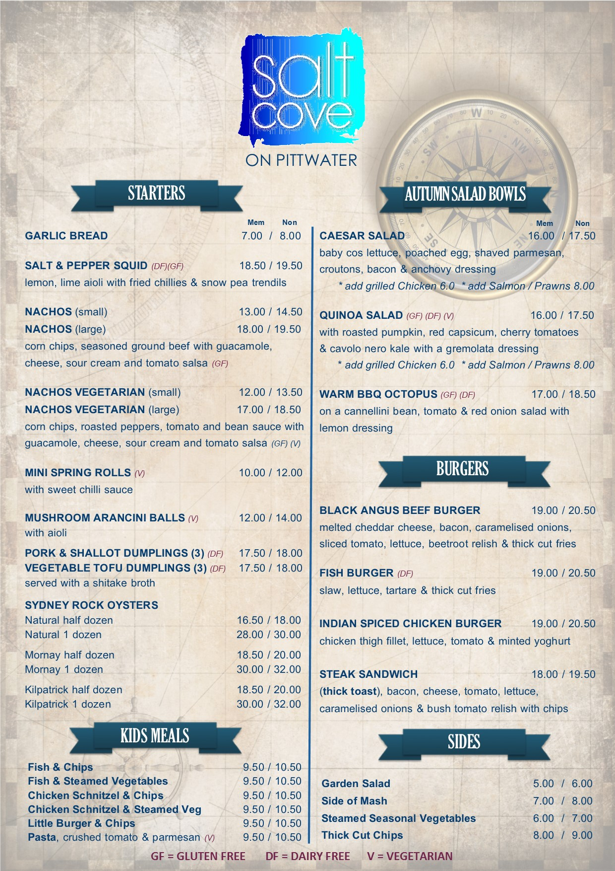 SALT COVE FINAL A4 MENU PG 1 WEB