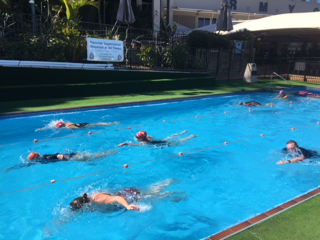Senior Swimming Classes at the RMYC