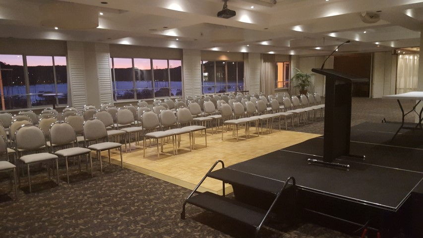 Royal Motor Yacht Club Top Deck Function Room Small