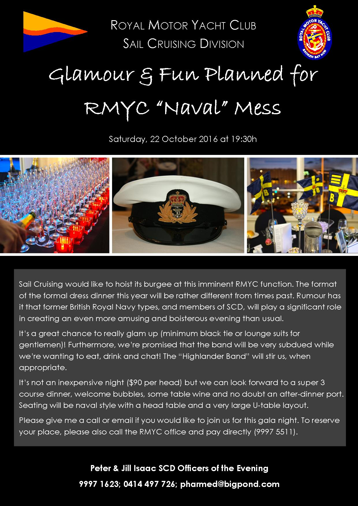 Formal Mess Invitation