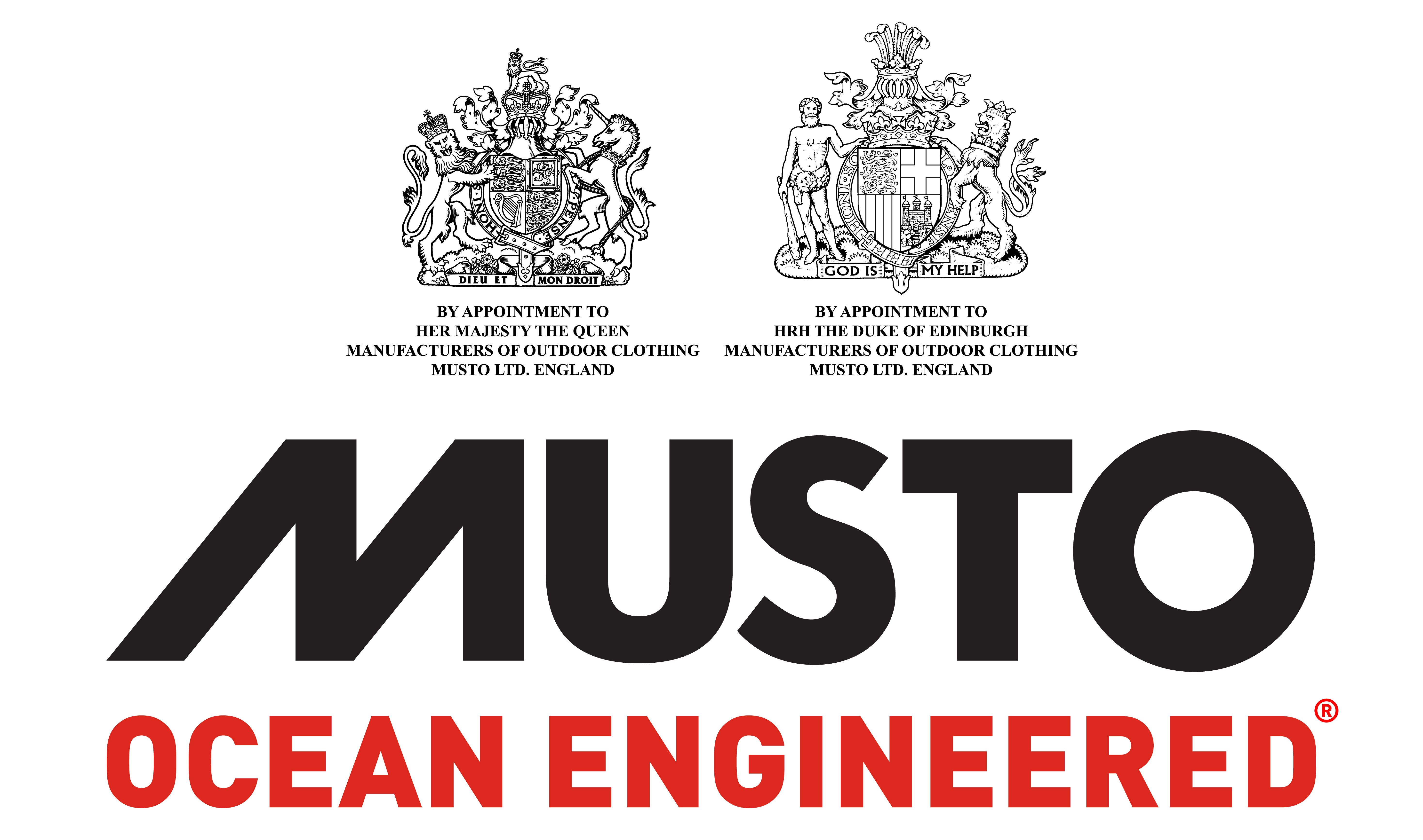 MUSTO FULL BRANDING BLACK ON WHITE