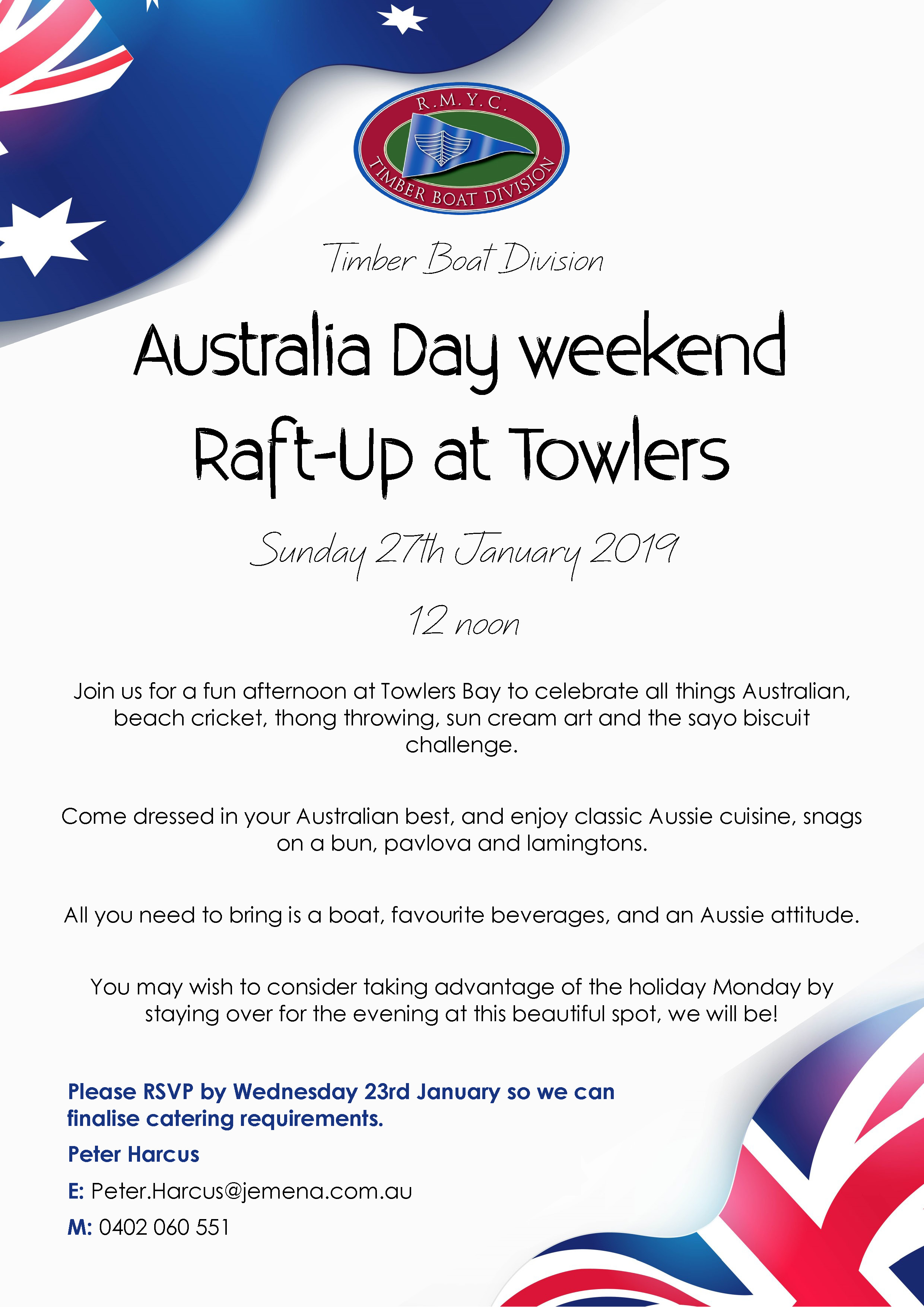 TBD Australia Day Raft Up