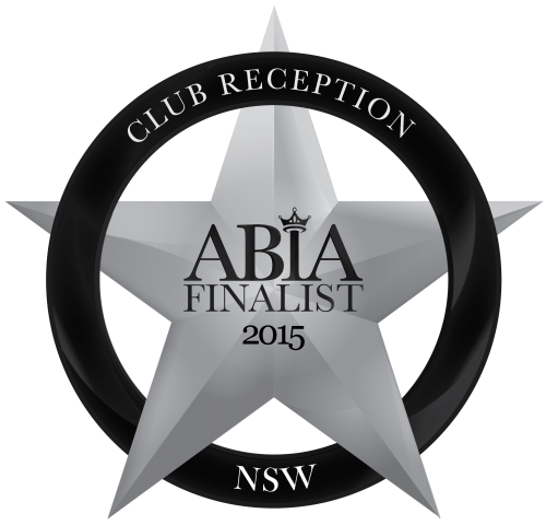 2015 NSW ABIA ClubReception FINALIST